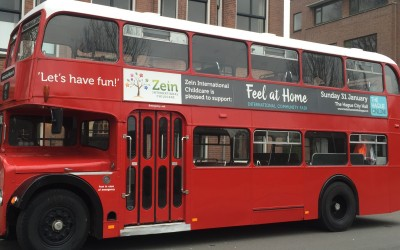 Follow the Red London Bus!