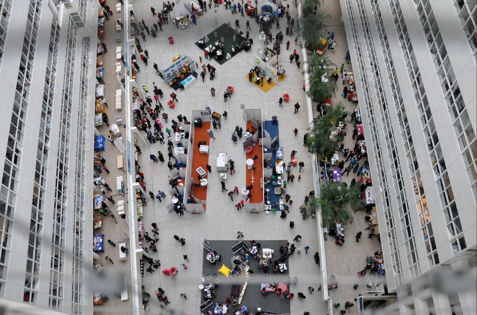 Bird's Eye View of The Feel At Home In The Hague Fair 2016