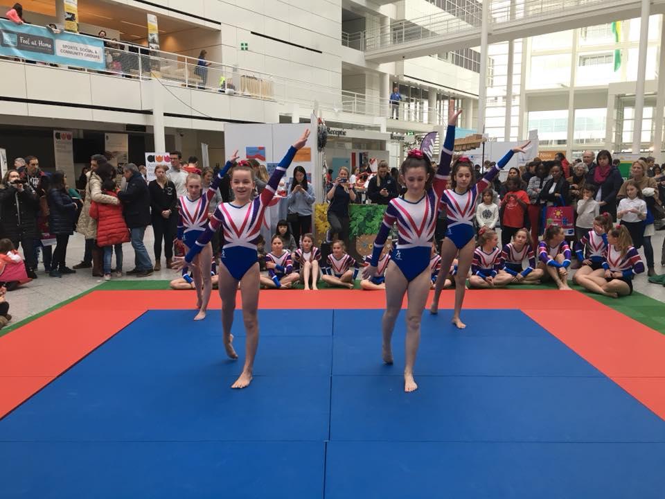 gymnasts 2018