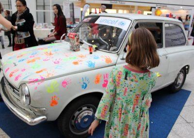 Daf Car Handprints