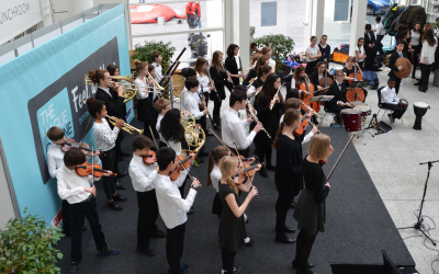 ISH Orchestra & Choir welcome visitors to the Fair
