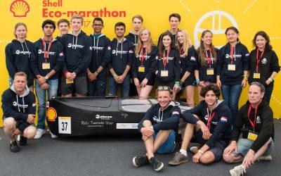 ISH Eco Car competes in Shell Eco Car Marathon