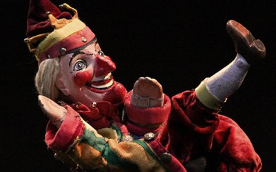 That's the Punch and Judy way to do it!