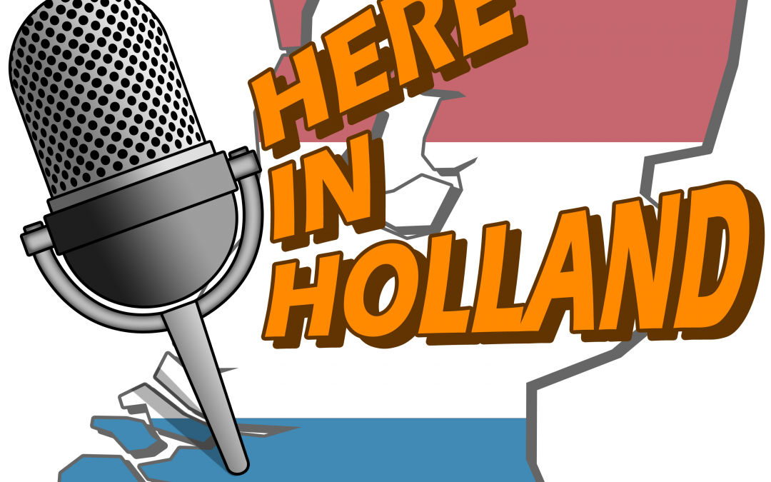 Here in Holland to make a podcast of the Fair