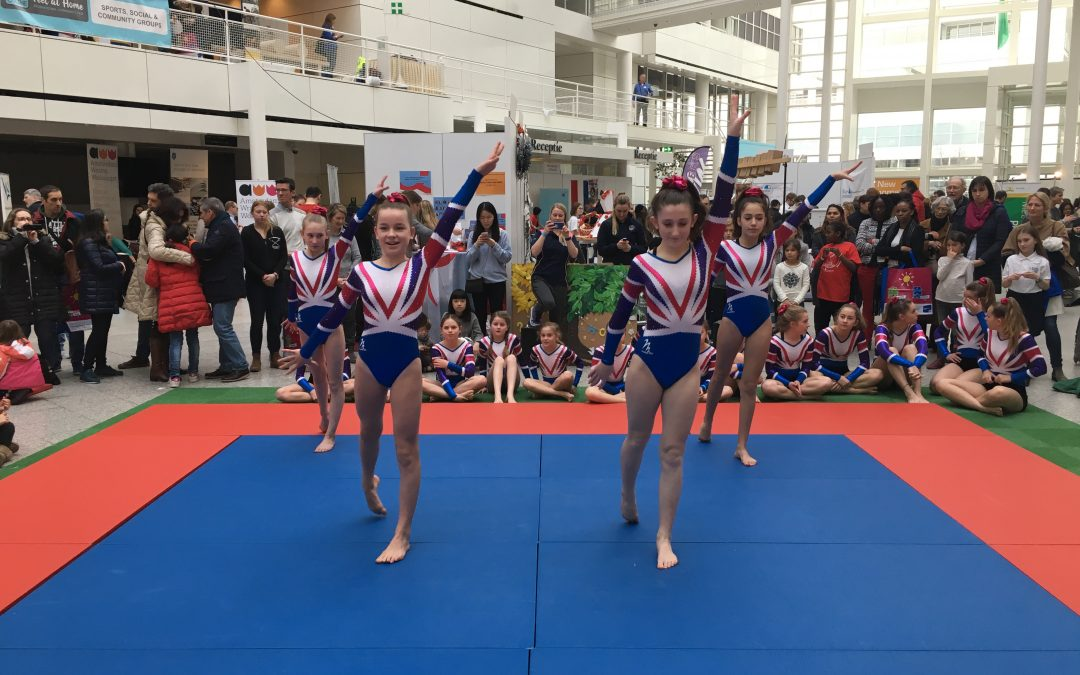 BSN gymnasts give plenty to cheer about!