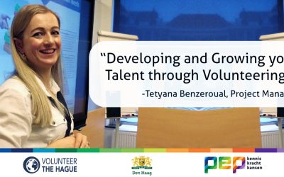 Developing and Growing your Talent through Volunteering