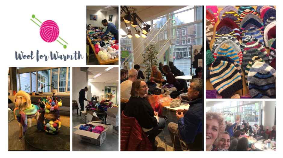 Support Wool for Warmth in their World Record attempt!